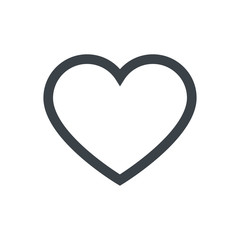 heart icon, vector best flat icon,
