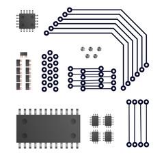 Digital device vector illustration.