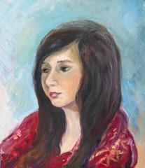 Portrait of yuong girl