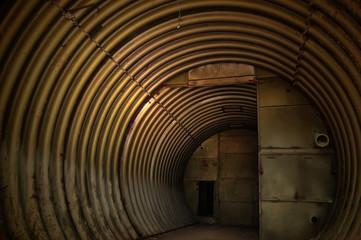 Bunker.  Urban decay. Kiev, Ukraine