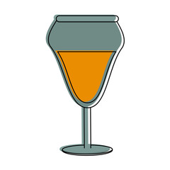 Champagne cup symbol