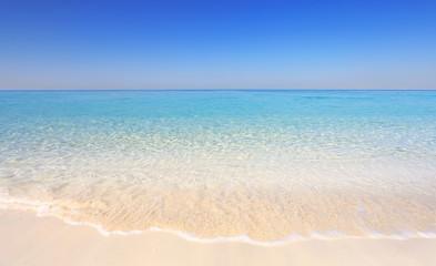 Tropical resort seashore