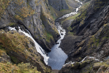 Voringsfossen Falls