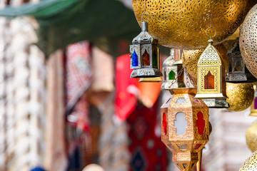 hanging arab lamps