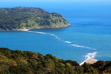 魚見岳から見る知林ヶ島