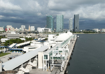 Miami Cruise Ship Terminal