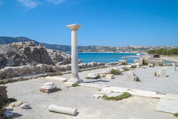 Ancient Ruins, Byzantine Basilica, Kos, Agios Stefanos, Antique , Antik