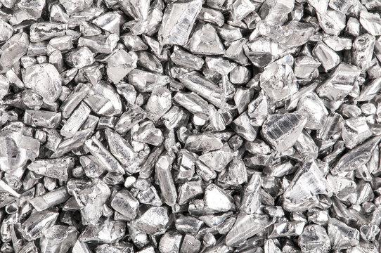 Silber Granulat Hintergrund