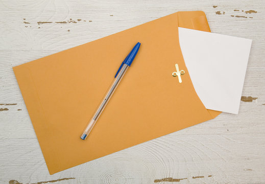 Snail Mail Envelope - Everyone loves getting REAL mail