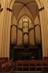 organ in the church
