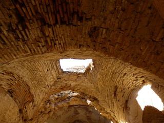 El castillo de Montalbán,fortaleza ubicada en San Martín de Montalbán, en la provincia de Toledo (Castilla La Mancha, España)