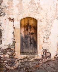 Kalami abandoned village in Crete, Greece