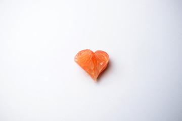 citrus pomelo fruit concept love