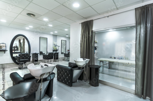 hair salon interior home design ideas