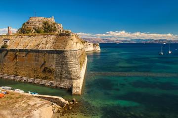 Alte Festung in Kerkyra auf Korfu Griechenland