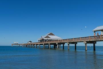 Scenic Pier at St Petersburg Beach Florida