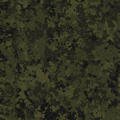 Seamless pattern. Abstract military or hunting camouflage background. Geometric square shapes. Olive, green color.