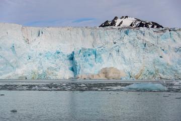 Glacier calving