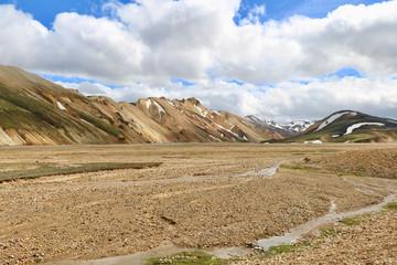 Landmannalaugar auf Island