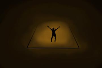 caída a la luz