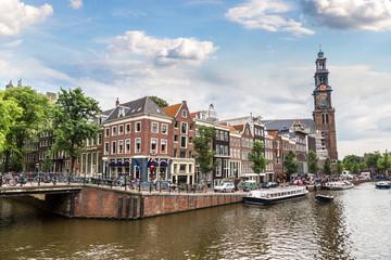 Printed roller blinds Amsterdam Westerkerk in Amsterdam