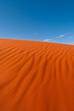 Red sand dune in central Australia