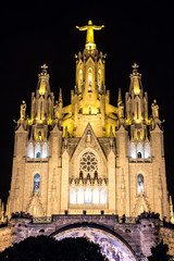 Church of the Sacred heart of Jesus in Barcelona