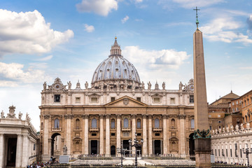 Fototapete - Vatican in a summer day