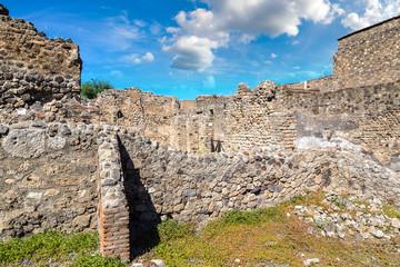 Fototapete - Pompeii city