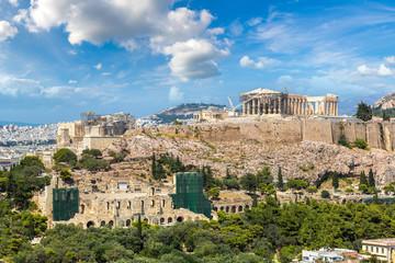 Fototapete - Acropolis in Athens