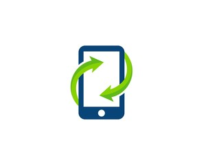 Mobile phone logo