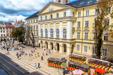 Fotomurales - Lviv - historic center of Ukraine