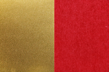 Japanese new year red gold paper texture background