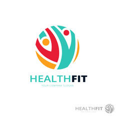 Fitness and Health Logo