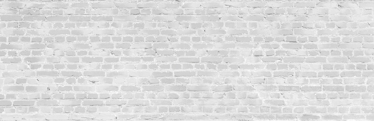 White old brick wall texture