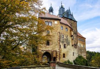 Castle Kriebstein in Saxony