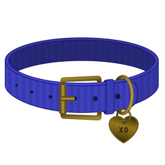 Purple Pet Collar - Cats and Dogs