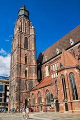 Wroclaw, Elisabethkirche mit Glockenturm