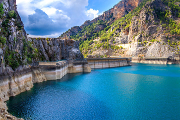 Water Dam In Antalya