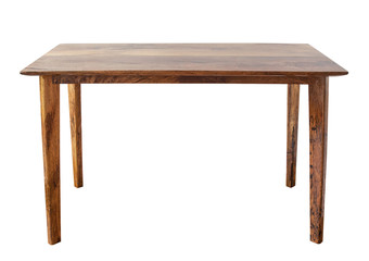 Table on white background. Wall mural
