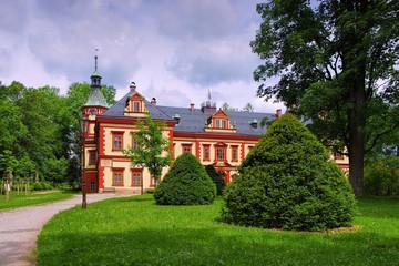 Starkenbach Schloss im Riesengebirge - Starkenbach palace in Giant  Mountains