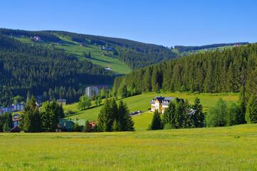 Petzer im Riesengebirge -  Pec pod Snezkou in Giant  Mountains