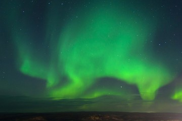 Auroras on the Kola Peninsula.