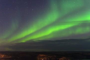 Auroras on the Kola Peninsula.