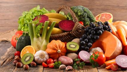 Foto op Plexiglas Keuken fruit and vegetable