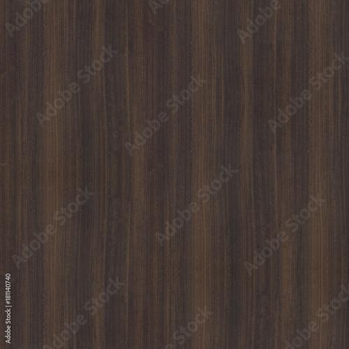 Walnut 01 Sable Wood Dark Brown Seamless Texture Stock Photo