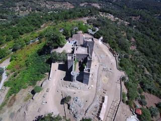 Cortegana. Pueblo Huelva, en el Parque Natural de la Sierra de Aracena y Picos de Aroche en Andalucía