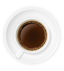 cup of coffee stock vector illustration