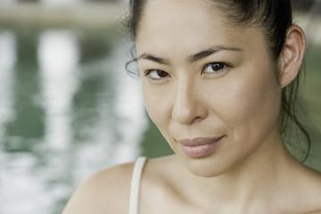 Asian woman, portrait