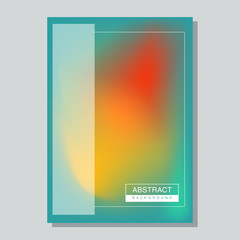 Abstract Minimalist Poster Template Design